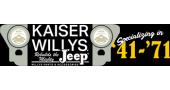 Kaiser Willys Auto Supply Promo Codes